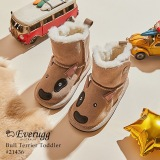 【澳洲仓】EVER UGG BULL TERRIER TODDLER 21436 3D动物小童学步鞋 Bull Terrier