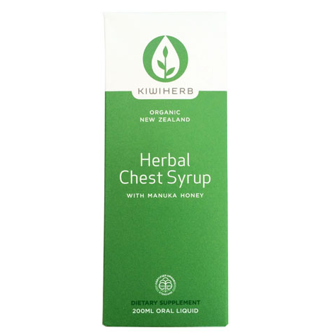 Kiwiherb Herbal Chest Syrup 成人止咳糖浆 200ml