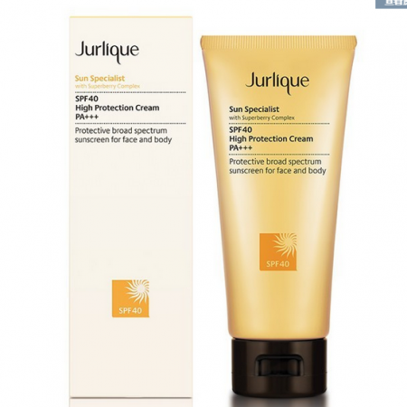 【澳洲仓】Jurlique茱莉蔻 高倍防晒霜 Sun Specialist SPF40 High Protection Cream 100ml