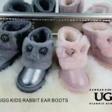 【澳洲仓】OZWEAR UGG OB215 KIDS RABBIT EAR BOOTS 儿童中筒兔耳短靴