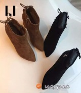 D2C UGG S171A-3 ANKLE BOOTS及裸短靴 6.5cm跟