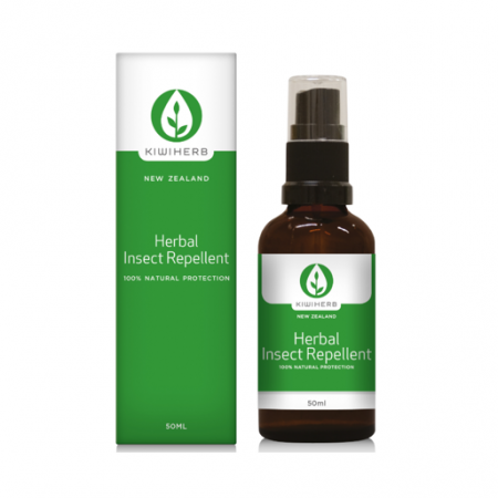 【新西兰仓】 Kiwiherb Herbal Insect Repellent 天然驱蚊喷雾 50ml